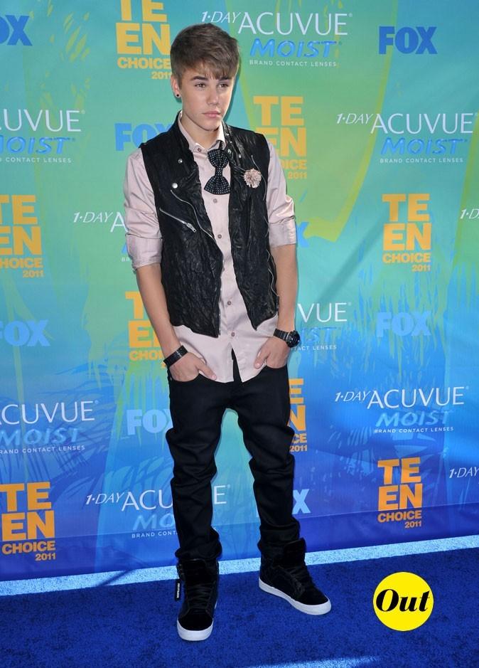Le look de Justin Bieber aux Teen Choice Awards 2011 !