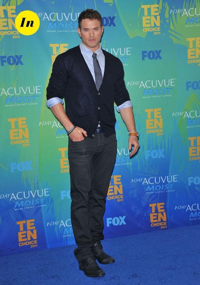 Le look de Kellan Lutz aux Teen Choice Awards 2011 !