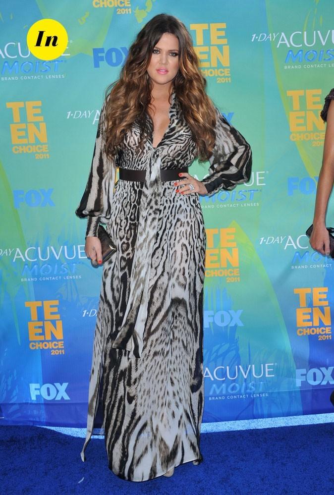 Le look de Khloé Kardashian aux Teen Choice Awards 2011 !