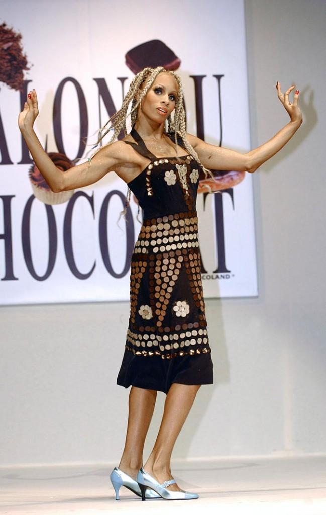 Salon du chocolat 2003 : Mia Frye