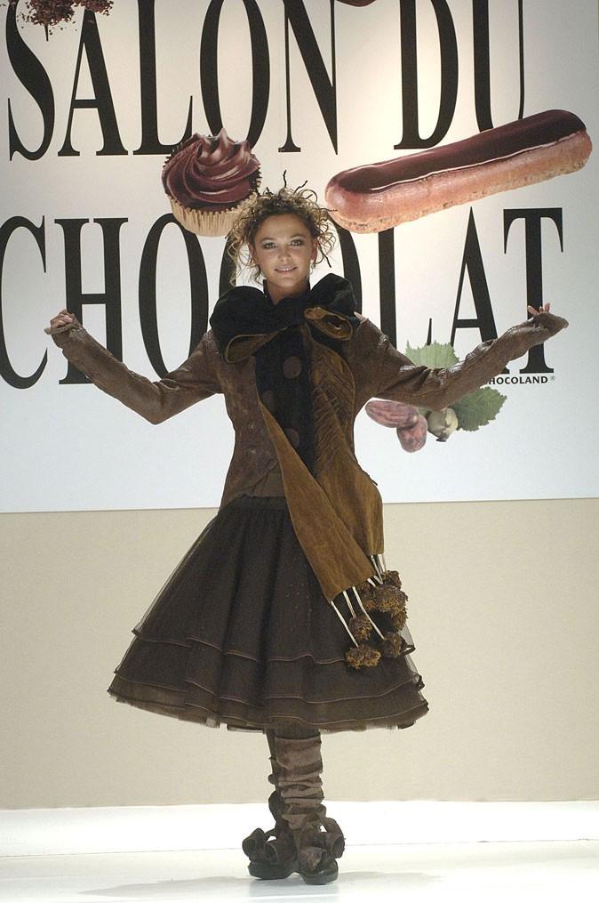 Salon du chocolat 2005 : Sandrine Quetier