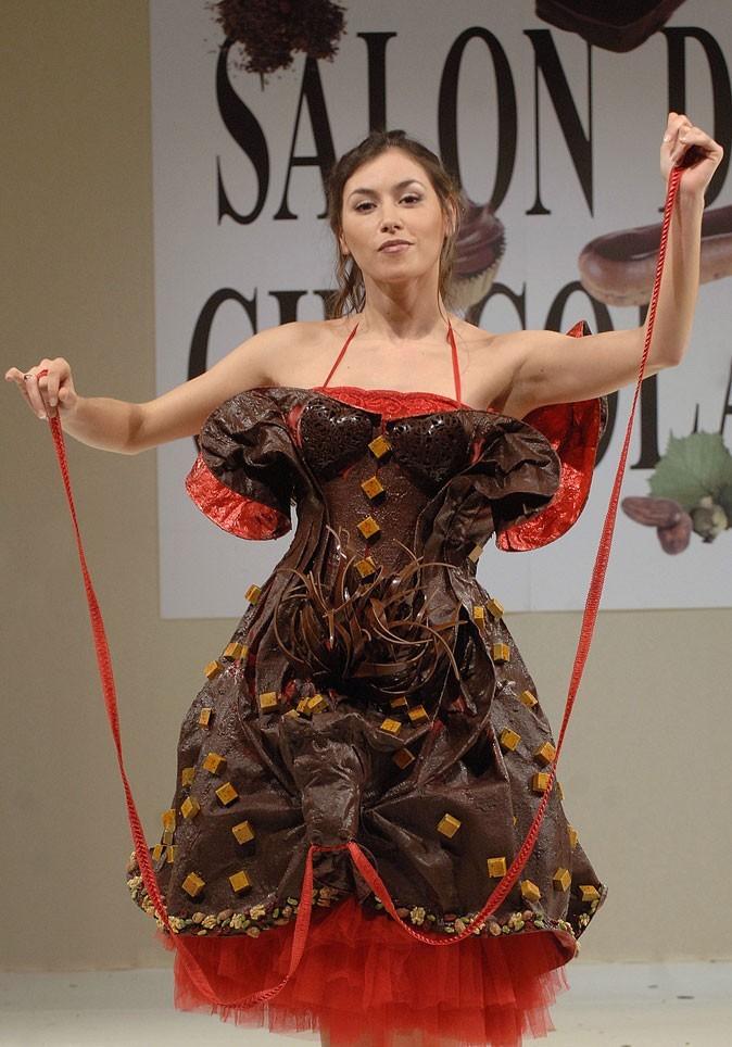 Salon du chocolat 2006 : Olivia Ruiz
