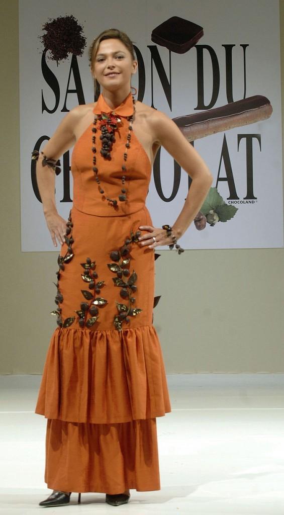 Salon du chocolat 2006 : Sandrine Quetier