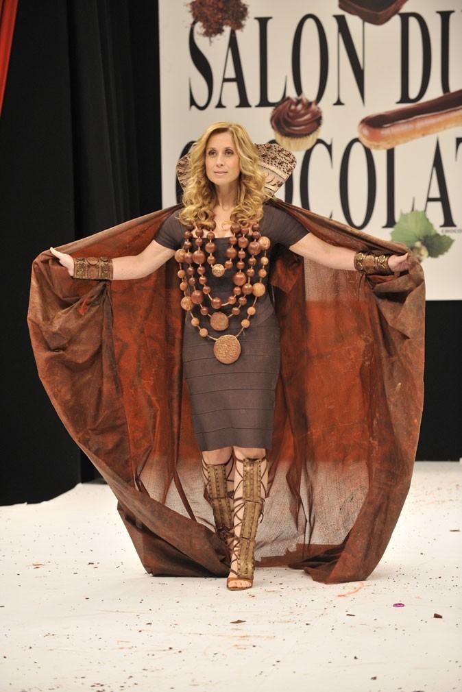 Salon du chocolat 2009 : Lara Fabian