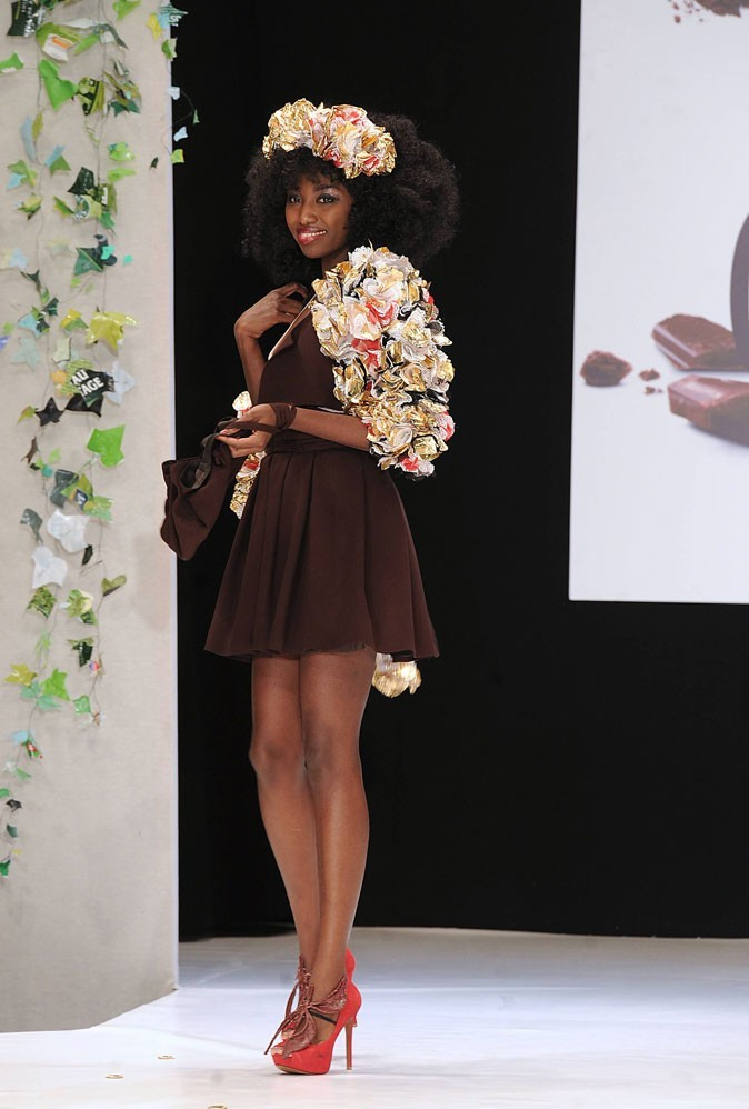 Salon du chocolat 2010 : Inna Modja