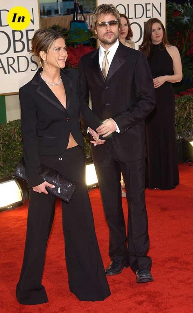 Tendance masculin/féminin : le look de Jennifer Aniston