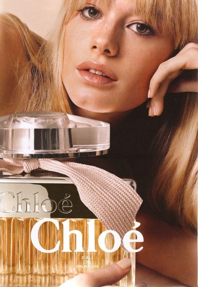 Camille Rowe Pourcheresse pour Chloé...