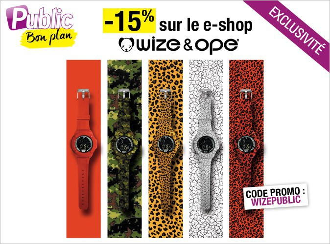Bon plan : -15% sur le e-shop de Wize and Ope !