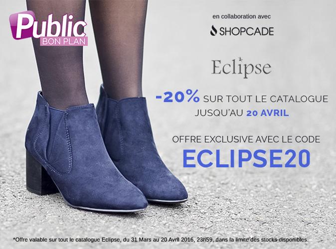 Bon Plan : -20 % sur les chaussures Eclipse !