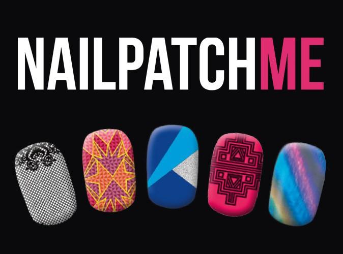 Bon plan mode : 5 modèles de stickers pour ongles NailPatchMe avec votre Public !