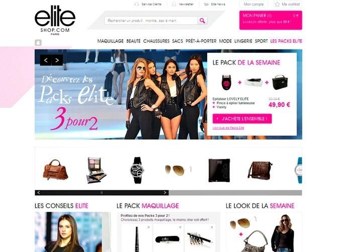 Bon plan mode : la boutique en ligne d'Elite, l'agence de tops !