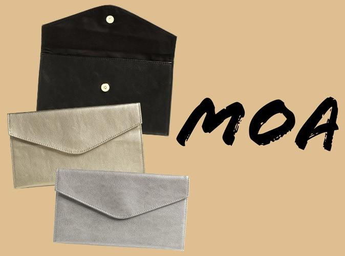 Bon plan mode : une pochette MOA avec votre magazine Public !