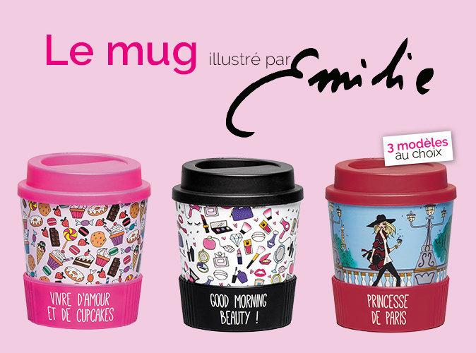 Bon Plan : mug illustré par Emiarty à 3,45 € seulement !