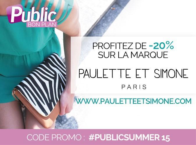 Bon plan : profitez de -20% sur la marque Paulette et Simone !