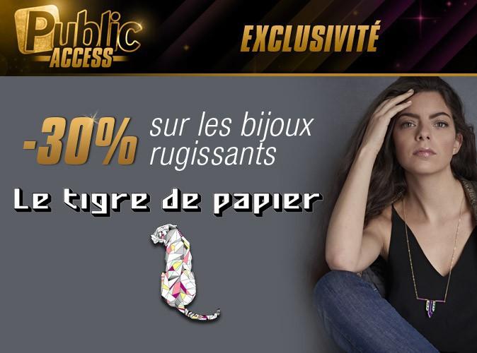 Bon plan Public Access : -30% sur le e-shop Le tigre de Papier !
