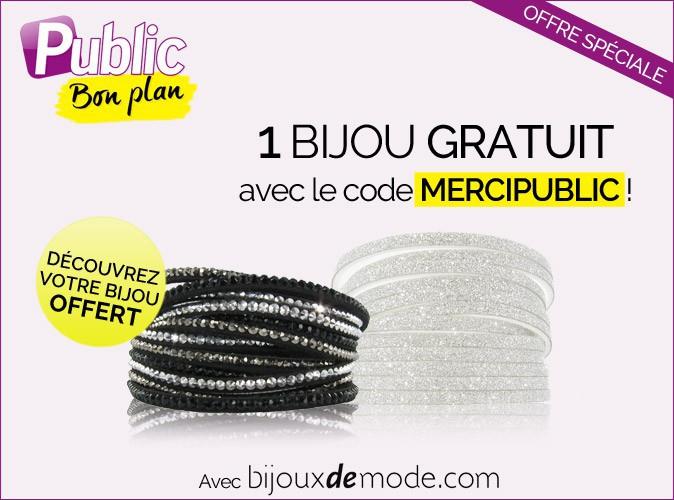 Bon plan : Public vous offre un bijou de bijouxdemode.com !