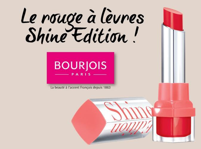 Bon plan : Public vous offre un rouge-à-lèvres Bourjois en plus de votre magazine Public !