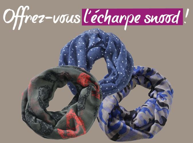 Bon plan : Public vous offre une écharpe snood so trendy avec votre magazine pour seulement 3,20€ de plus !
