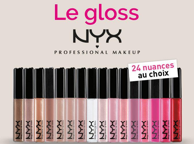 Bon Plan : votre gloss NYX Professional Makeup à 2,95€ seulement !