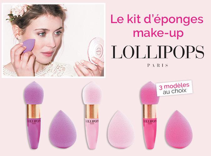 Bon Plan : votre kit d'éponges make-up Lollipops à 3.95 euros seulement !