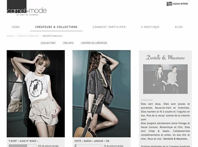 Carnet de Mode : un site de mode participatif