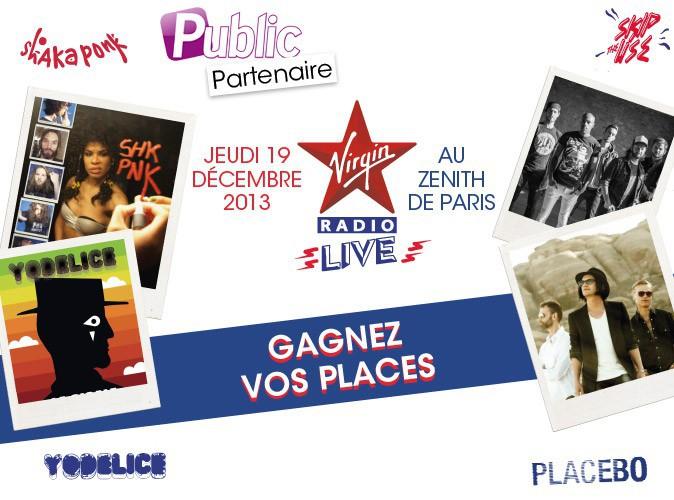 Grand jeu-concours : 100 places à gagner pour assister au concert de Shaka Ponk, Skip The Use, Placebo et Yodelice !