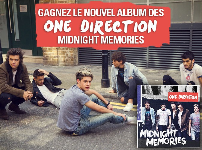 """Grand jeu-concours : gagnez """"Midnight Memories"""", le nouvel album des One Direction !"""