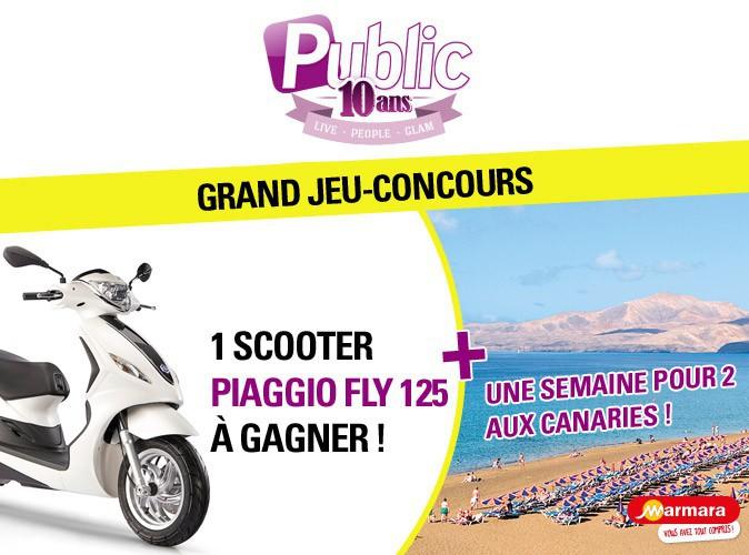 Grand Jeu-Concours : gagnez un scooter Piaggio Fly et un voyage aux Canaries !