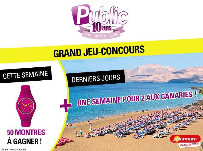 Grand Jeu-Concours : gagnez un voyage aux Canaries et 50 montres !
