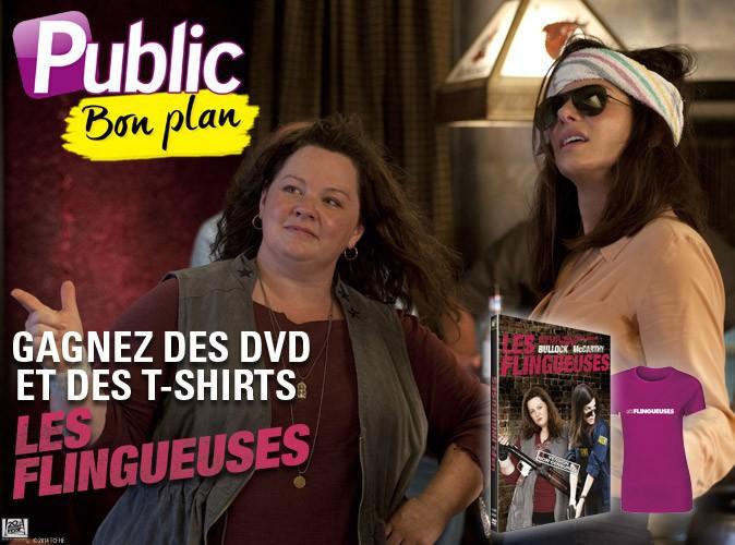 Grand jeu-concours : jouez et gagnez des T-shirts et DVD à l'occasion de la sortie en DVD des Flingueuses !