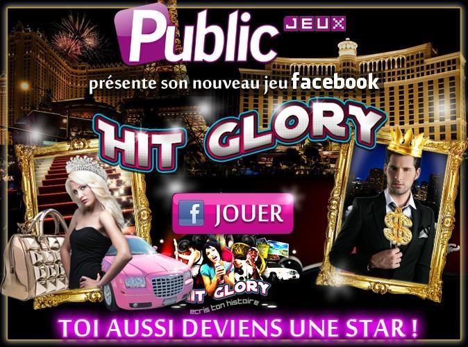 Hit Glory : découvrez le nouveau jeu facebook de Public !