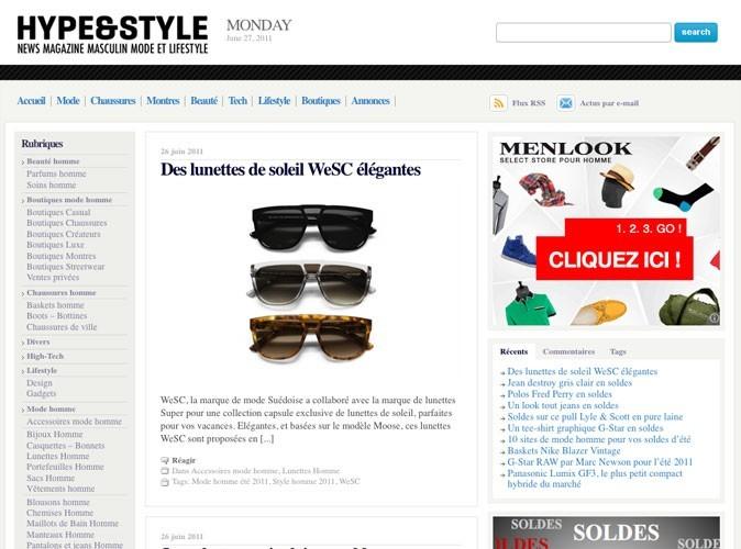 HypeandStyle : le site parfait pour l'homme idéal !