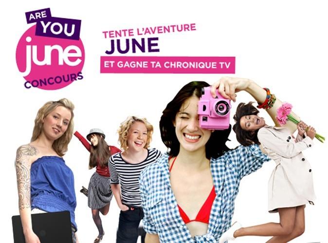 Jeu-concours : animez une chronique TV sur la chaîne June !