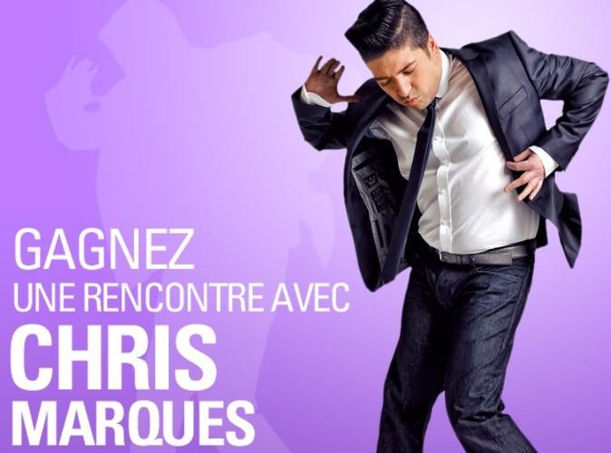 Jeu-concours : gagnez des places pour rencontrer Chris Marques de Danse avec les stars !