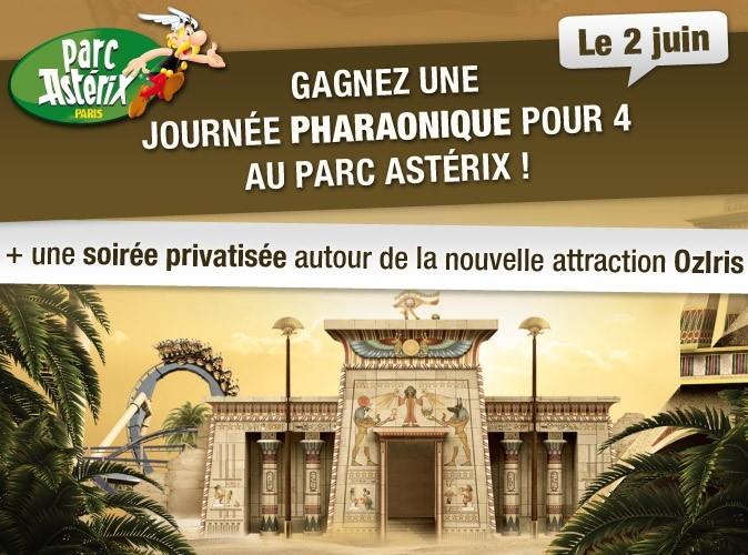 Jeu-concours : gagnez une journée pharaonique pour 4 au Parc Astérix !