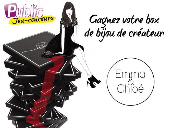 Jeu concours : gagnez votre box bijoux de créateurs Emma & Chloé grâce à Public !