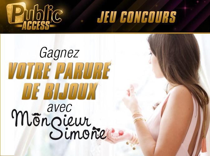 Jeu concours : gagnez votre parure de bijoux Monsieur Simone !