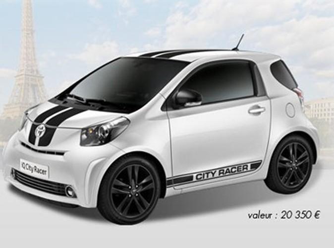 Jeu-concours : il est encore temps de tenter votre chance pour gagner une Toyota IQ² City Racer !