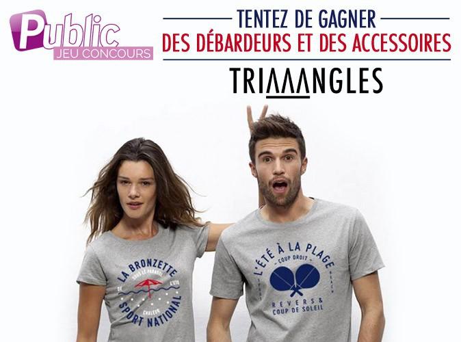 Jeu concours : viens gagner des coques, des totebags et des débardeurs avec Triaaangles !