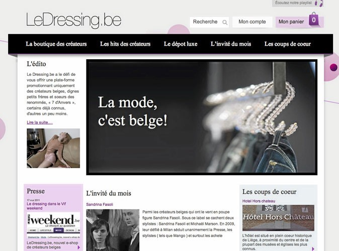 LeDressing.be : le site de vente en ligne from Belgique !