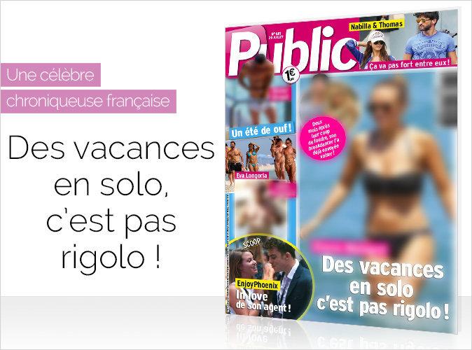 Magazine Public : Une célèbre chroniqueuse française : des vacances en solo, c'est pas rigolo !