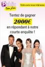 Bon Plan : tentez de gagner 2000€ en participant à l'enquête de Public !
