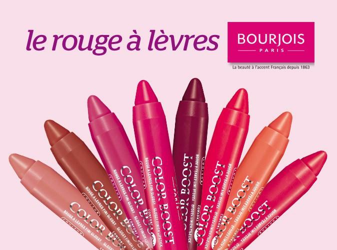 Bon Plan : à vous l'un des 8 rouges à lèvres Bourjois !
