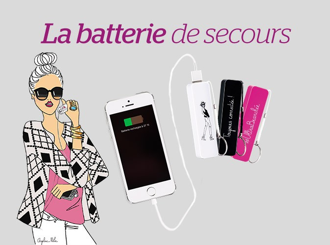 Plus Produit : une batterie portable Angeline Mélin à découvrir dans votre Public !