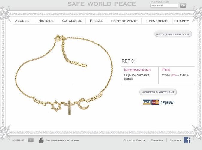 Safeworldpeace.com : découvrez le nouveau sac de la créatrice Fadia Otte !