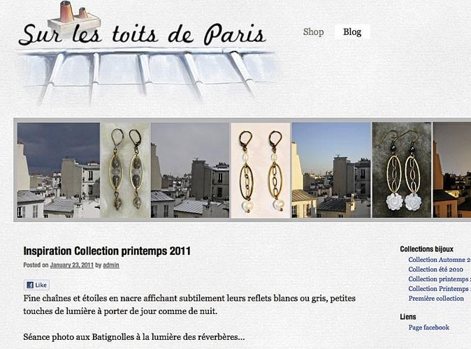 Sur les Toits de Paris : des bijoux faits main !