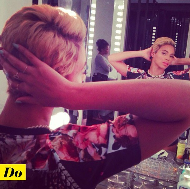 Beyoncé et la coupe garçonne.