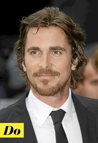 Les cheveux longs version Christian Bale : Do !