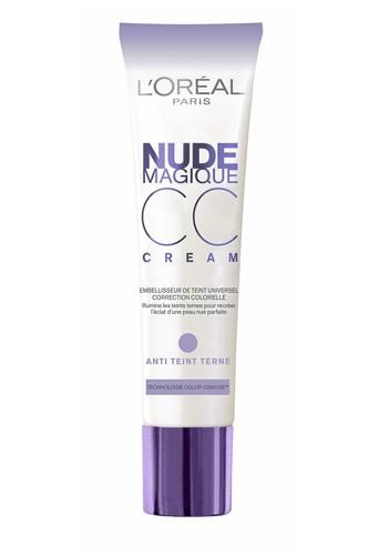 CC cream Nude Magique anti-teint terne de L'Oréal Paris, 14,50 €