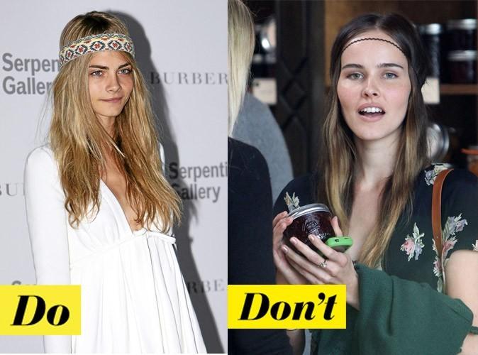 Coiffure de star été 2011 : comment porter le headband ?